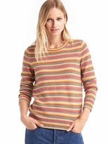 Gap Mini stripe crewneck sweater