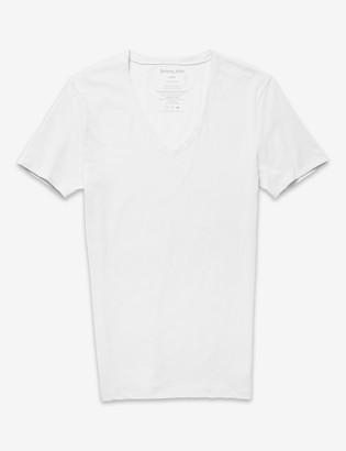 Tommy John Cotton Basics Deep V-Neck Stay-Tucked Undershirt