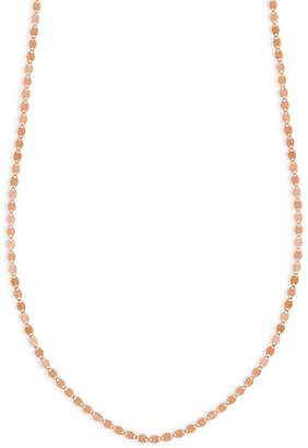 Lana Petite Nude Chain 14K Rose Gold Choker