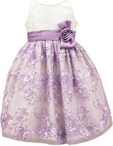 Jayne Copeland Floral Soutache Special Occasion Dress, Big Girls (7-16)