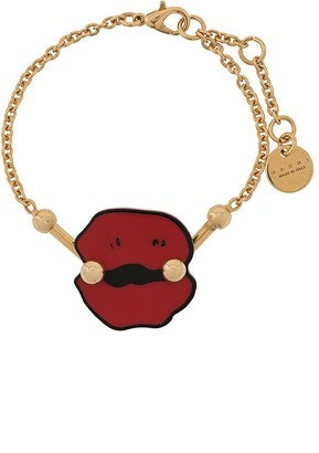 Marni Lips Charm Bracelet
