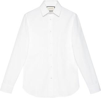 Gucci Fitted Poplin Shirt