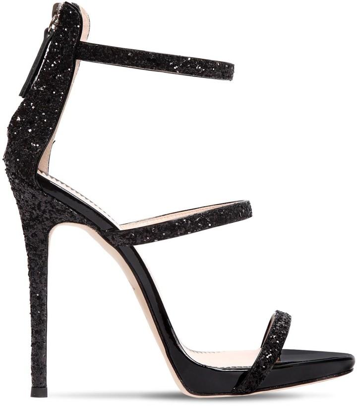 Giuseppe Zanotti Design 110mm Harmony Glittered Sandals