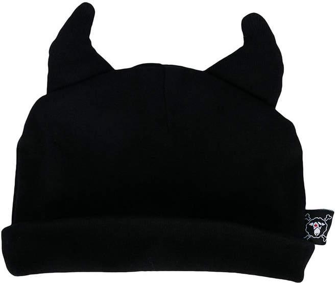Nununu horn embellished hat