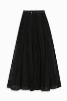 Martin Grant Long Tulle Skirt