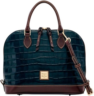 Dooney & Bourke Oakdale Zip Zip Satchel
