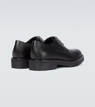Dries Van Noten Leather lace-up Derby shoes