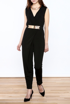 HYFVE Black Sleeveless Jumpsuit
