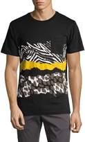 Wesc Men's Maxwell Animal Print T-Shirt