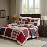 Woolrich Huntington Reversible Quilt Set in Red