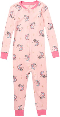 Petit Lem Unicorn Dream In Color One-Piece Pajamas