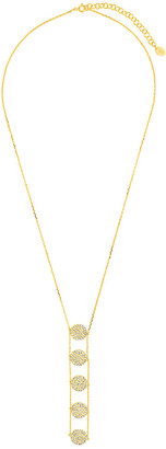 Sterling Forever 14K Over Silver Cz Pendant Necklace
