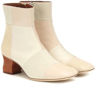 REJINA PYO Yuki leather ankle boots