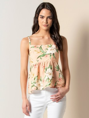 Forever New Ulla Babydoll Cami - Peached Lily - 10