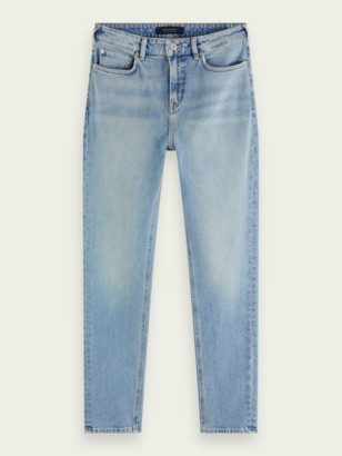Scotch & Soda High Five high-rise slim-leg jeans Cool Water | Women