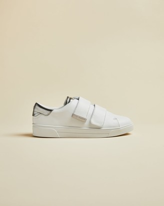Ted Baker Leather Velcro Trainers