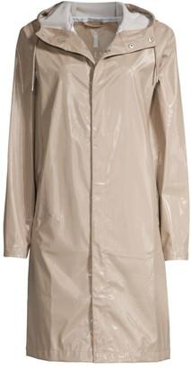 Rains Shiny Longline Coat