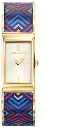 Christian Lacroix Womens Analogue Quartz Watch with Stainless Steel Strap CLWE51