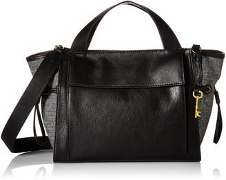 Fossil Women's Mason Satchel Handbag Medium Brown