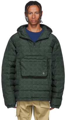 Wonders Green Plaid Tech Pullover Jacket