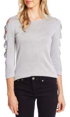 Cynthia Steffe Cece By Bow Cut-Out Sweater