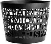 H&M Metal Storage Basket - Black/cities