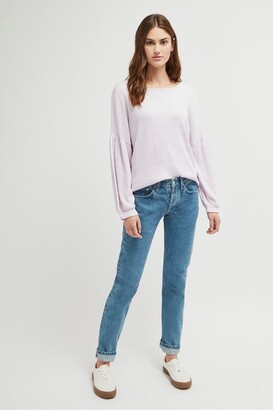 French Connection Pearle Jersey Cropped Top