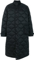 Our Legacy quilted cape coat