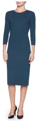 Magaschoni 3/4 Sleeve Micromodal Dress