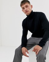 French Connection 100% cotton roll neck sweater
