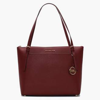 Michael Kors Large Voyager East West Brandy Saffiano Leather Tote Bag