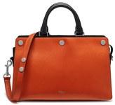 Mulberry 'Chester' Leather Satchel - Orange
