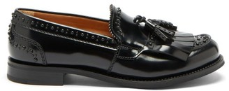 Church's Coleen Stud-embellished Leather Loafers - Black
