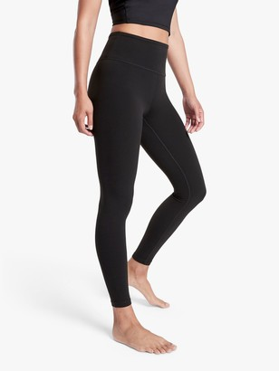Athleta Salutation High Waist Stash Pocket 7/8 Tights, Black