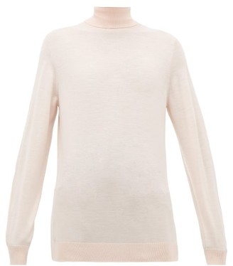Hillier Bartley Roll-neck Merino-wool Sweater - Light Pink