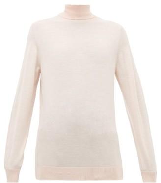Hillier Bartley Roll-neck Merino-wool Sweater - Womens - Light Pink