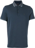 Michael Kors geometric print polo shirt - men - Cotton - XXL