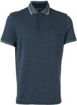 Michael Kors geometric print polo shirt