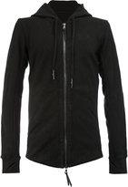 11 By Boris Bidjan Saberi zip up hooded jacket - men - Cotton - XS