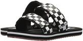 Vans Cayucas Slide ((Checkerboard) Black/Marshmallow) Women's Shoes