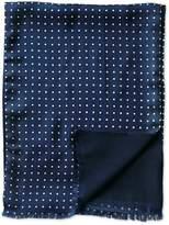 Navy Dot Silk Scarf Size Osfa By Charles Tyrwhitt