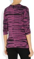 Proenza Schouler Tie-dye cotton-jersey top