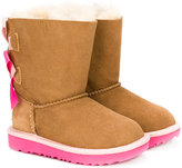UGG contrast slip-on boots