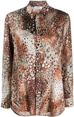 Roseanna Atelier animal print shirt