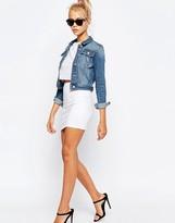 Asos Mini Skirt in Jersey