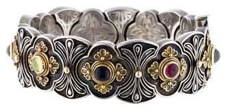 Konstantino Multistone Hinge Bracelet
