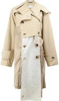 Maison Margiela deconstructed trench coat - women - Cotton/Viscose - 40
