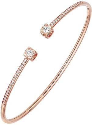 Dinh Van Medium Le Cube Diamant Bracelet - Rose Gold