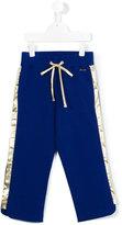 Simonetta side stripe sweatpants