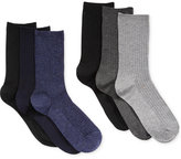 Lauren Ralph Lauren Women's 6-Pk. Ribbed Trouser Socks
